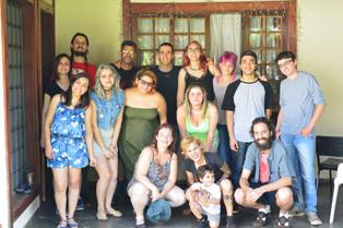 Outubro/2017 - Membros do Maringá Vegano e organizadores do primeiro Churras Veg