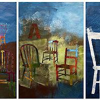 Quatre saisons en chaises majeures artiste contemporaine