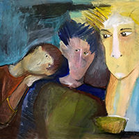 susanne tanguay artiste peintre La fraterie 2001