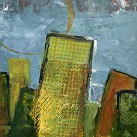 oeuvre contemporaine sur papier 2012