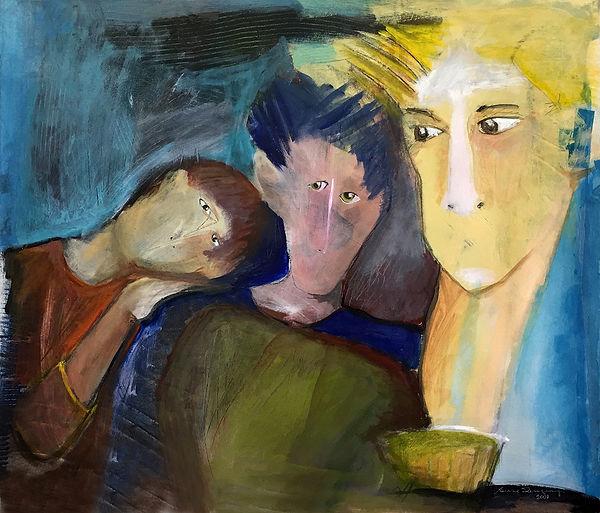 La Fraterie oeuvre de Susanne Tanguay artiste