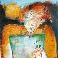 Susanne  Tanguay artiste peintre J'aime lire 2007