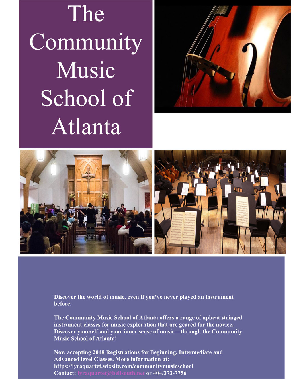 Home | The Community Music School Of Atlanta