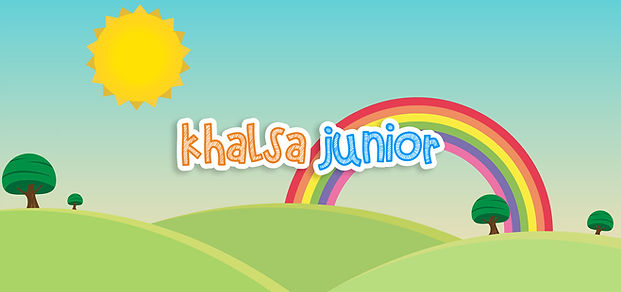 Khalsa Junior YouTube Channel Art Templa