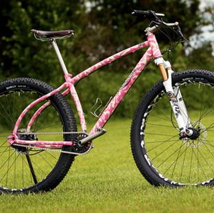 Pink and Cream Camo