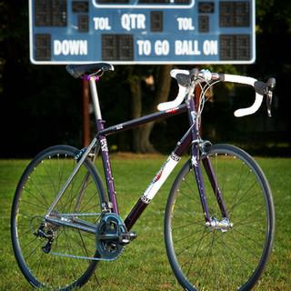 TCU tribute bike