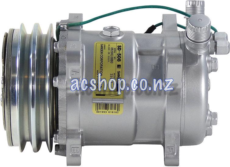 C74005 SANDEN SD508 2GA 24V VOR CHAR/PORTS