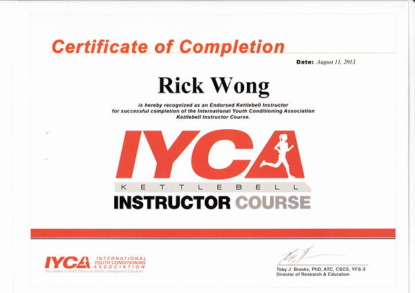 Image of IYCA Kettlebell Instructor Certificate