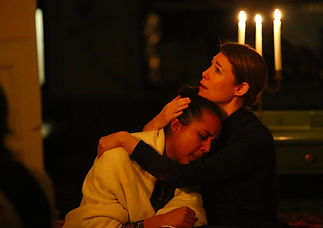 The Freeman Studio actors perform a scene from Three Sisters