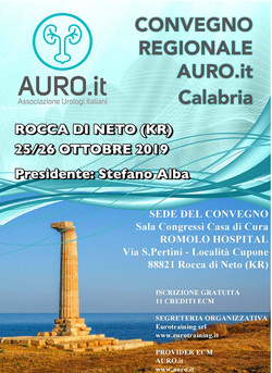Convegno Regionale AURO.it Calabria al Romolo Hospital