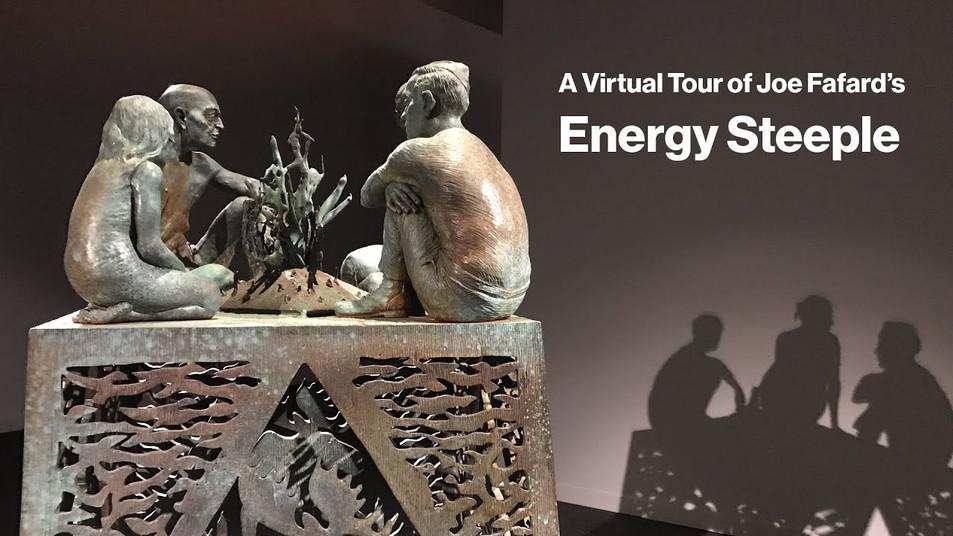 A virtual tour of Joe Fafard's Energy Steeple
