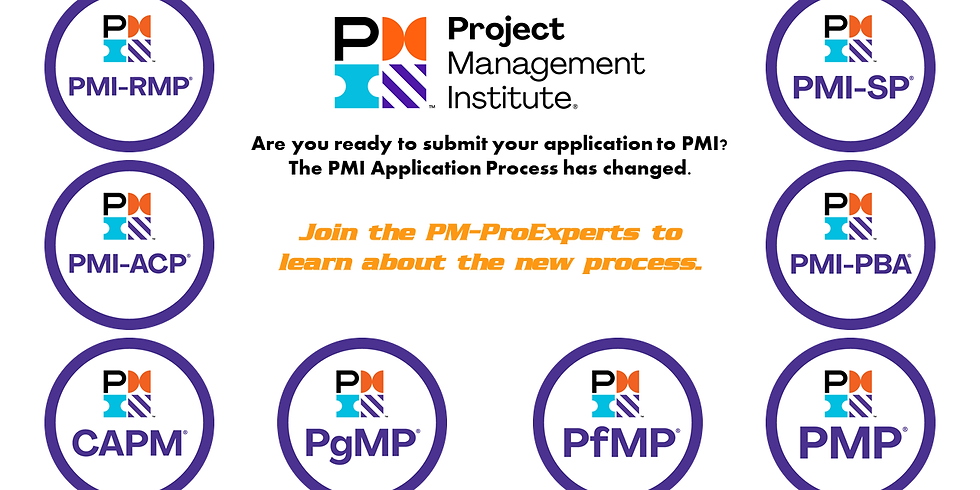 Applying for PMI Certification Exams in 2020