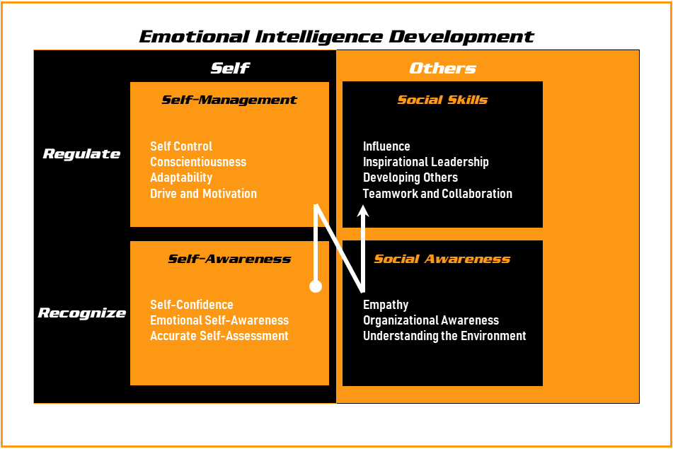 Emotional Intelligence Development Graphic