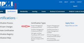 Applying to Take the PMP Exam