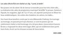"""Teaser """"Lunel la belle"""""""