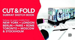 Cut & Fold Subway Sketchbook
