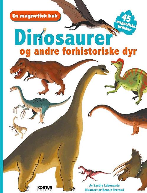 En magnetisk bok - Dinosaurer og andre forhistoriske dyr