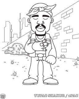 hip hop coloring book | Coloring Pages