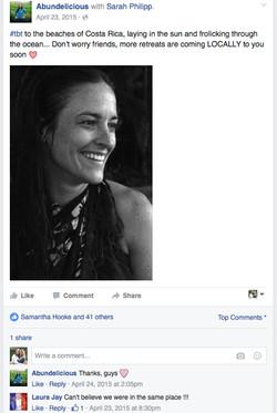 Facebook - Abundelicious