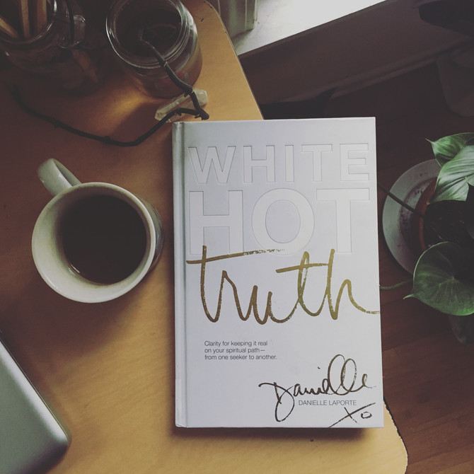 Inspiration from 'White Hot Truth'