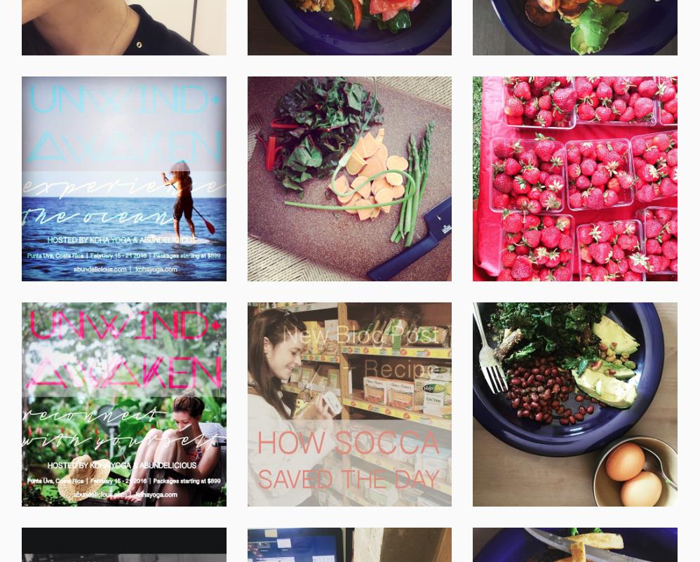 Instagram - @abundelicious