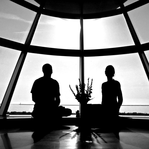 PJ + LARISSA - YOGA AT THE MUSEUM