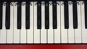 pianotoetsenborden