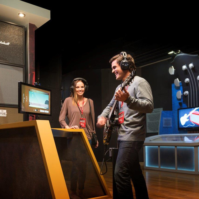"""""""One of the best exhibits yet. First time the whole family got involved and stayed interested and had so much fun. We love to sing and listen to music so this was made for us"""" -Scot Pendergraft -"""