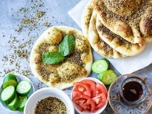 Manaeesh Zataar Recipe