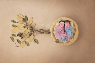 Twins Newborn Session | San Diego Newborn Photographer