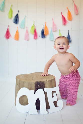 San Diego Baby Photographer | Sophia Turns One | Cake Smash