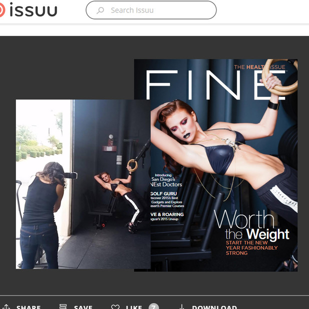 Fine_Magazine Cover Shot Kinda Arzon Photography