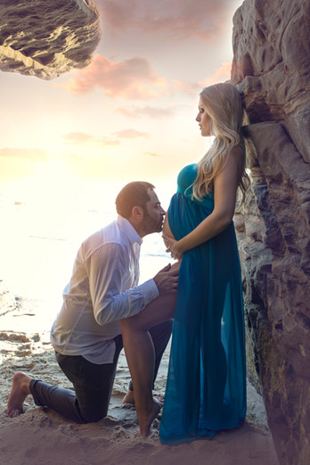 beach Maternity  | Kinda Arzon Photography San Diego