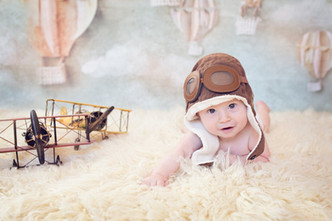 San Diego Baby Photographer | Rayan Six Months Milestone Session