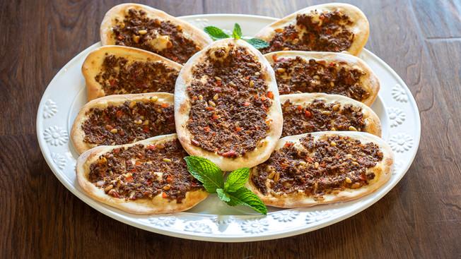 Sfeeha Recipe - Syrian Meat Pies