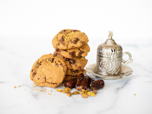 The Middle Eastern Chocolate Chip Cookie with Dates and Pistachios