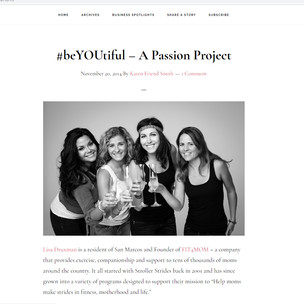 SHARE San Marcos FIT4MOM Passion Project BeYouTiful with Kinda Arzon Photography
