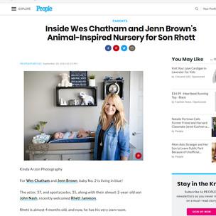 People Magazine Inside Wes Chatham and Jenn Brown's Animal-Inspired Nursery for Son Rhett - Kinda Arzon Photography