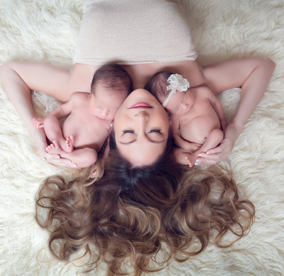 Newborn Twins Photography |  Kinda Arzon Photography San Diego