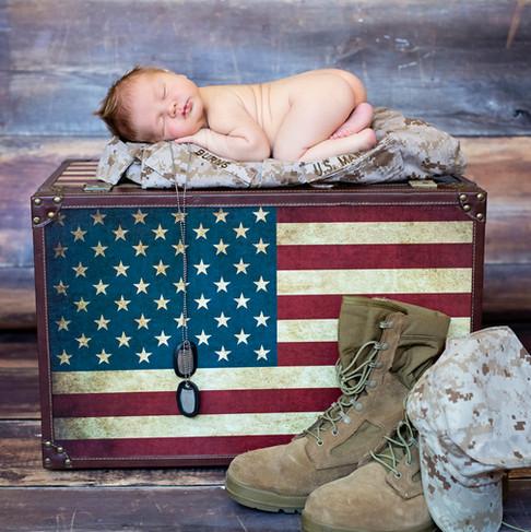 Militarty Newborn Photography    Kinda Arzon Photography San Diego