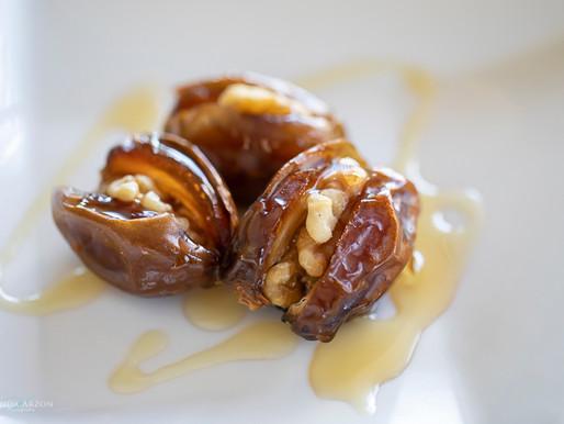 Walnut Stuffed Dates