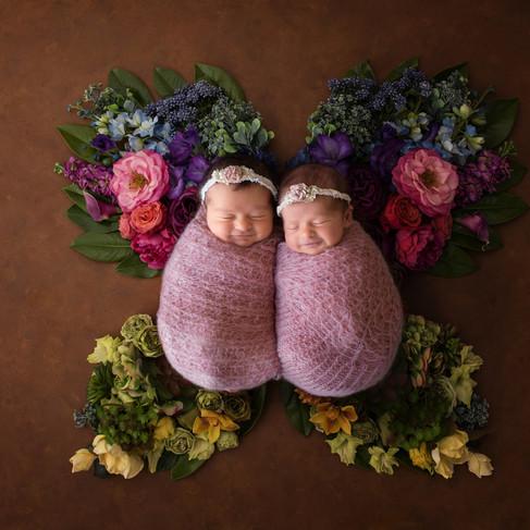 Newborn Twins Photography    Kinda Arzon Photography San Diego