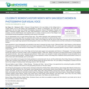 CELEBRATE WOMEN'S HISTORY MONTH WITH SAN DIEGO'S WOMEN IN PHOTOGRAPHY OUR VISUAL VOICE Kinda Arzon Photography
