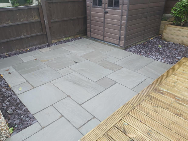 Indian Stone Paving