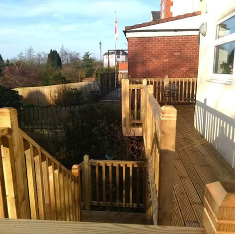 Timber decking & stairs