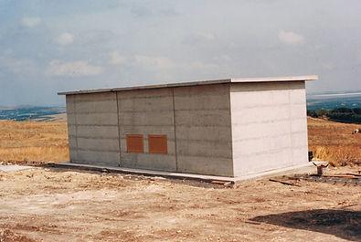 Cabina elettrica prefabbricata in c.a.v.