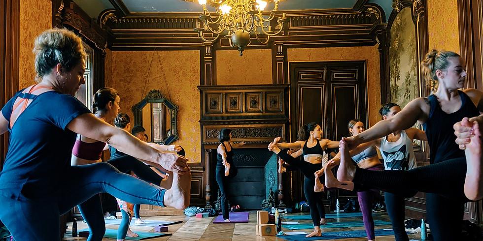 Journée Yoga au Chateau de Ligoure 15/08/21