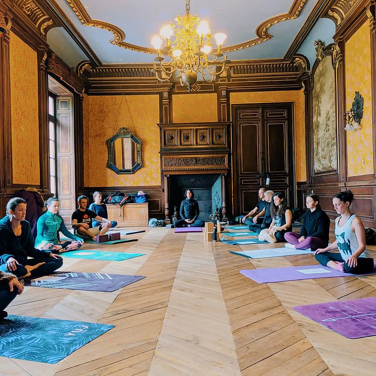 Retraite Yoga au Château de Ligoure du 24 au 26 septembre