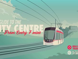 Edinburgh Trams - Glide to the City Centre