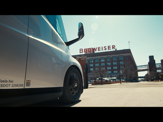 Budweiser - Brewed with 100% Renewable Energy